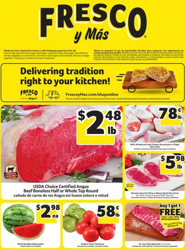 Fresco y Más - deals are valid from 04/21/21 to 04/27/21 - page 1.