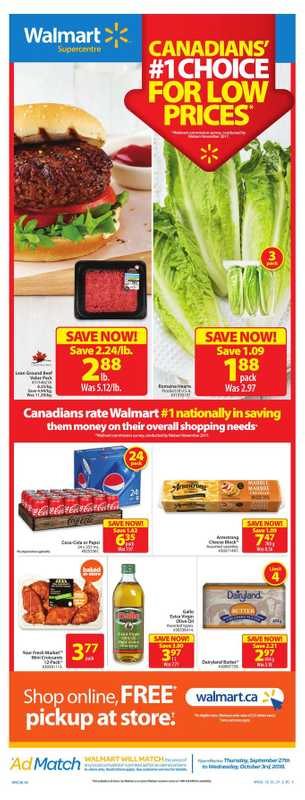 Walmart - deals are valid from 09/27/18 to 10/03/18 - page 1.