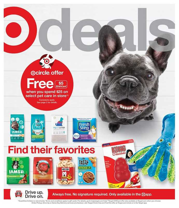 Target - deals are valid from 05/09/21 to 05/15/21 - page 1.