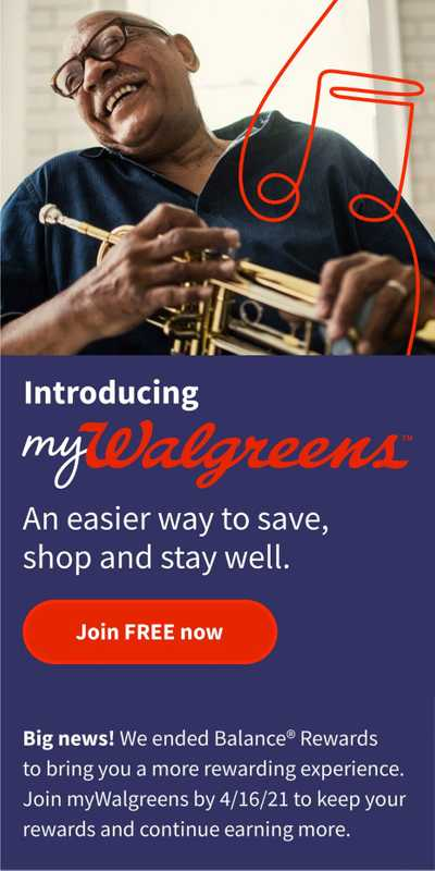 Walgreens - deals are valid from 03/21/21 to 03/27/21 - page 1.