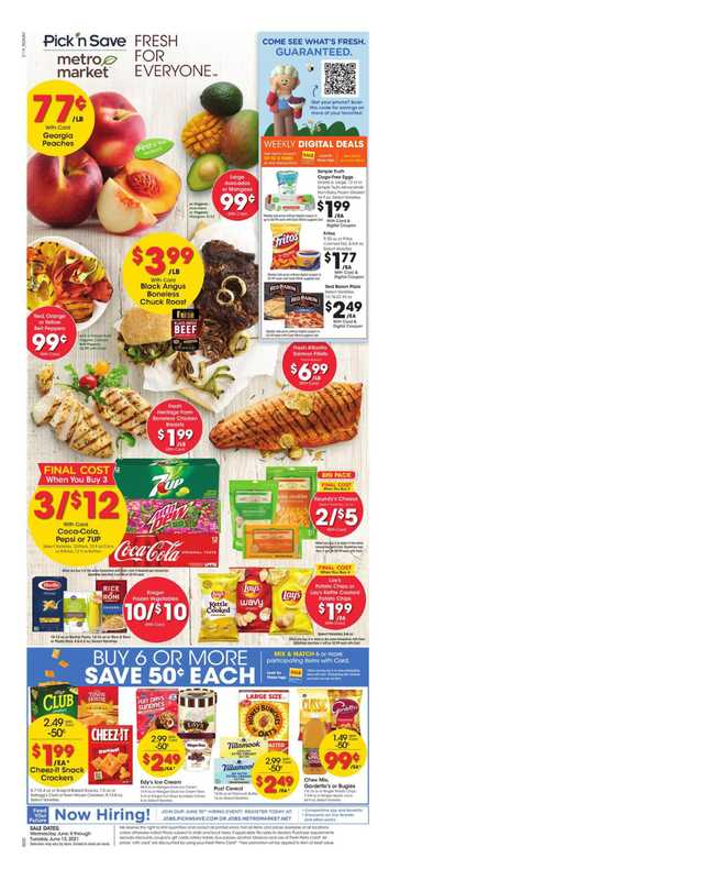 Pick n Save - deals are valid from 06/09/21 to 06/15/21 - page 1.