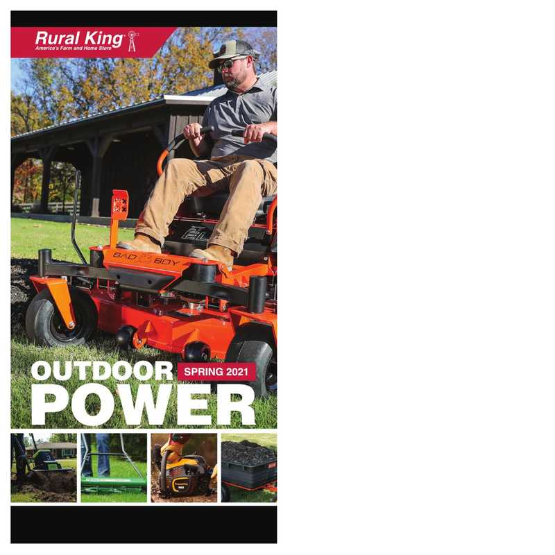 Rural King - deals are valid from 03/24/21 to 09/30/21 - page 1.