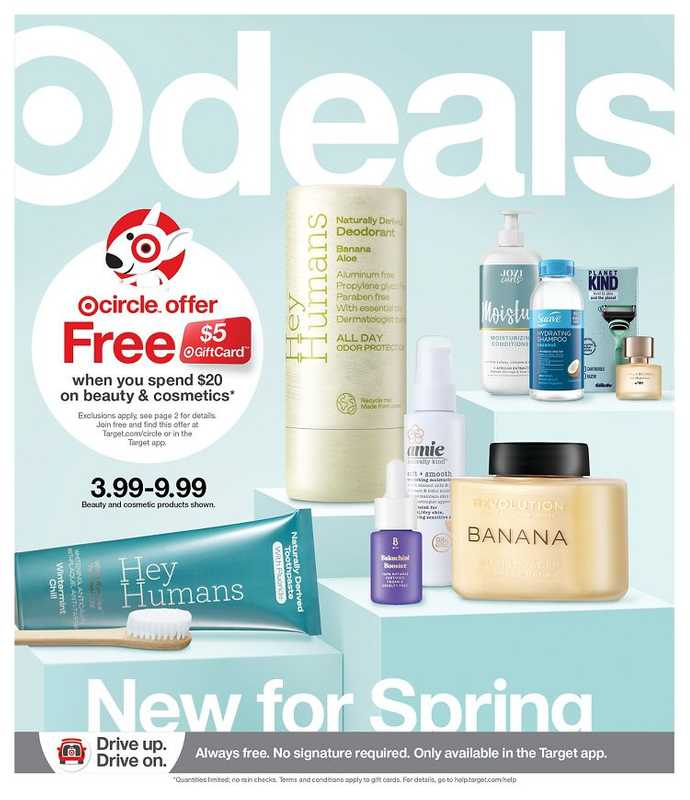 Target - deals are valid from 02/21/21 to 02/27/21 - page 1.