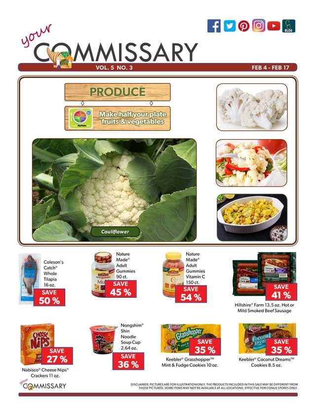 Commissary - promo starting from 2019-02-04 - page 1