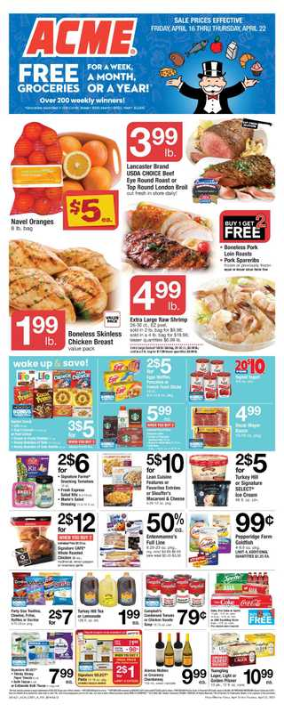 ACME - deals are valid from 04/16/21 to 04/22/21 - page 1.