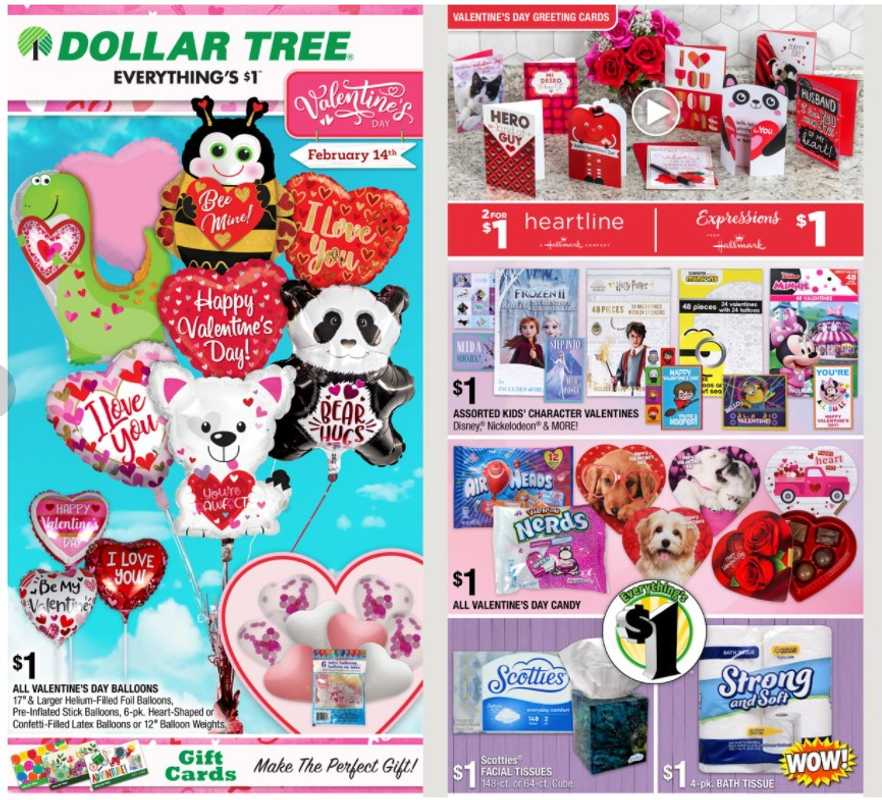 Dollar Tree - deals are valid from 01/24/21 to 02/14/21 - page 1.