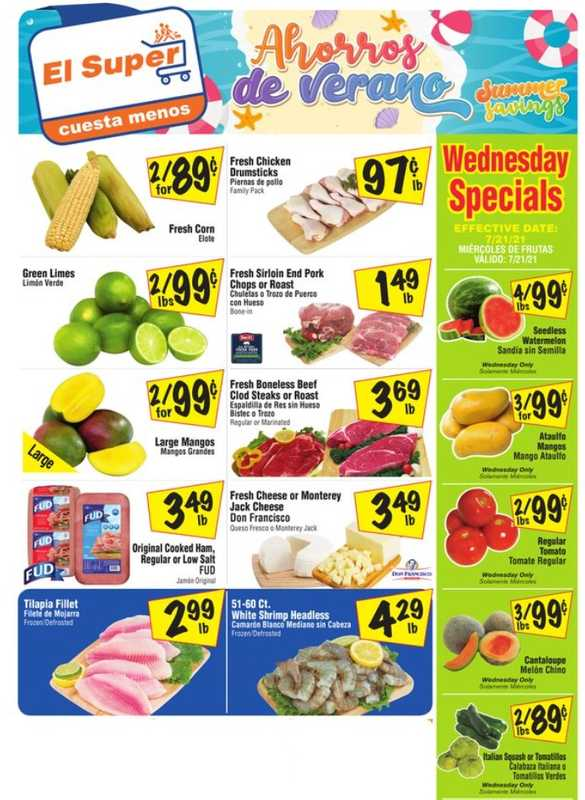 El Super - deals are valid from 07/21/21 to 07/27/21 - page 1.