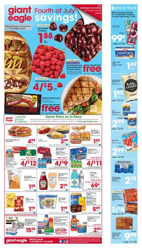 Market District - deals are valid from 07/02/20 to 07/08/20 - page 1.
