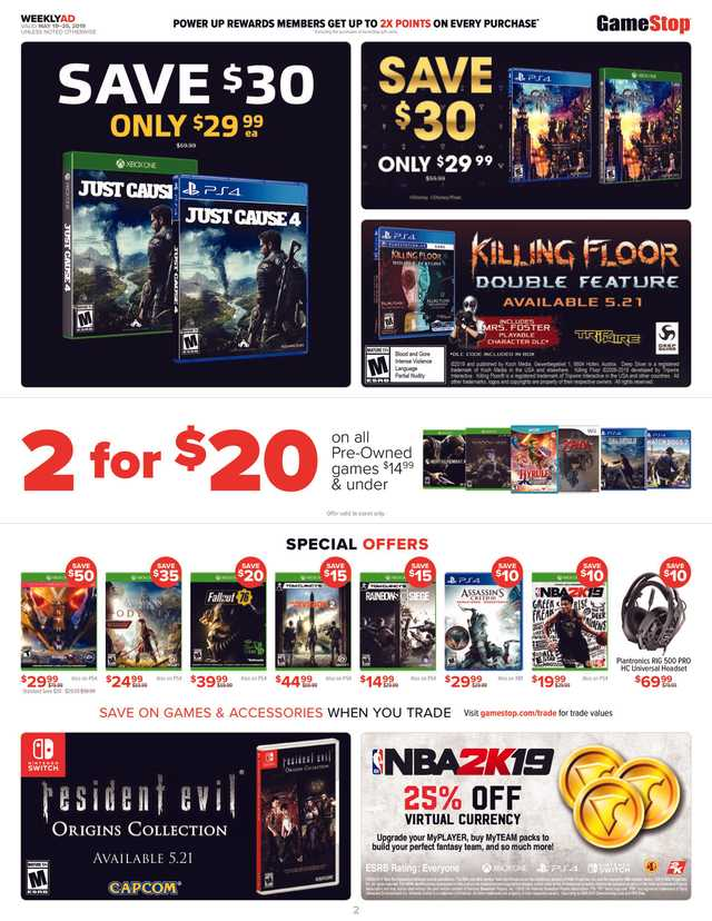 GameStop - promo starting from 2019-05-19 - page 2