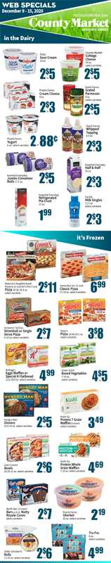 County Market - deals are valid from 12/09/20 to 12/15/20 - page 1.