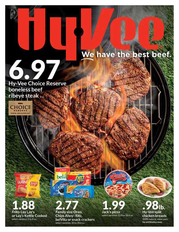 Hy-Vee - deals are valid from 05/12/21 to 05/18/21 - page 1.