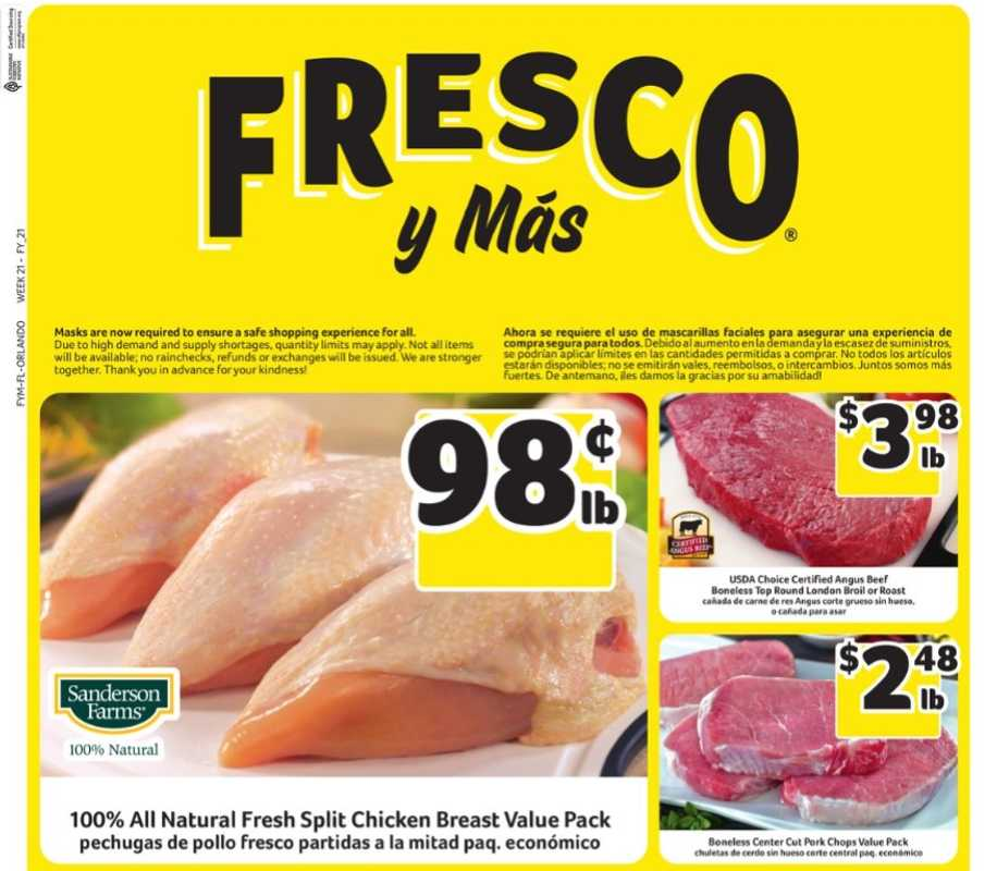 Fresco y Más - deals are valid from 05/19/21 to 05/25/21 - page 1.
