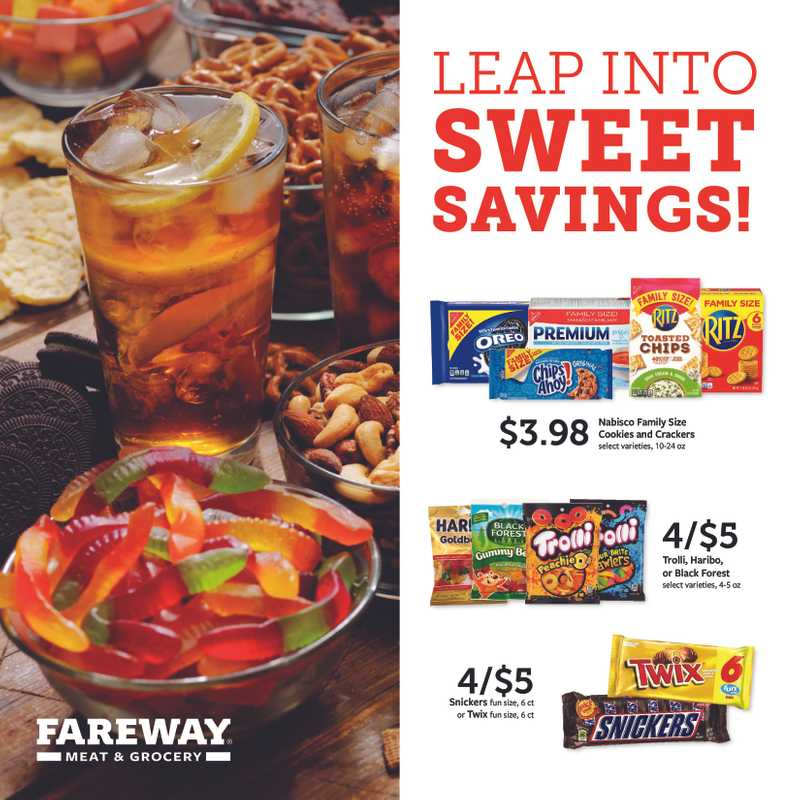 Fareway - deals are valid from 02/01/20 to 02/29/20 - page 1.