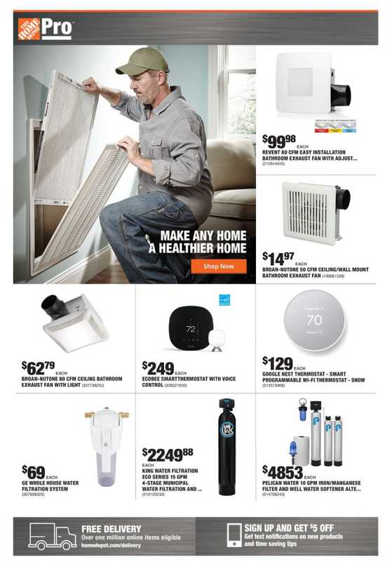 The Home Depot - deals are valid from 07/12/21 to 07/19/21 - page 1.