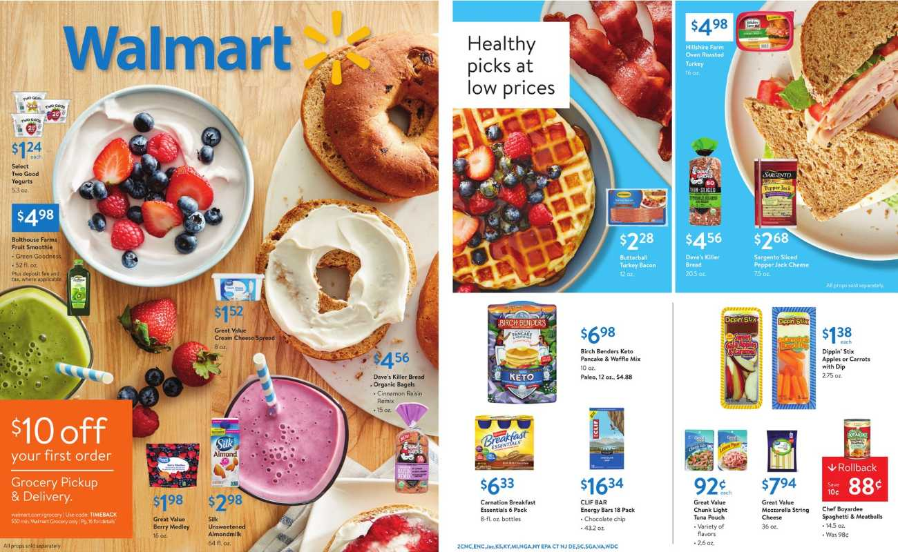 Walmart - deals are valid from 01/12/20 to 01/30/20 - page 1.
