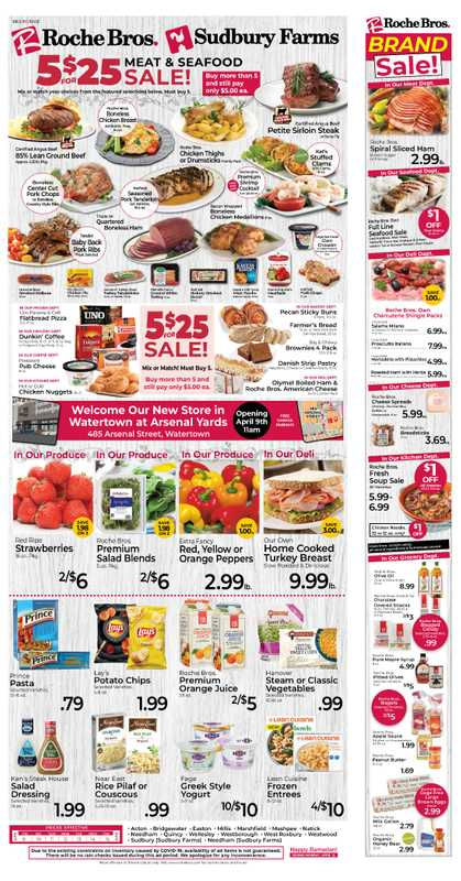 Roche Bros. - deals are valid from 04/09/21 to 04/15/21 - page 1.