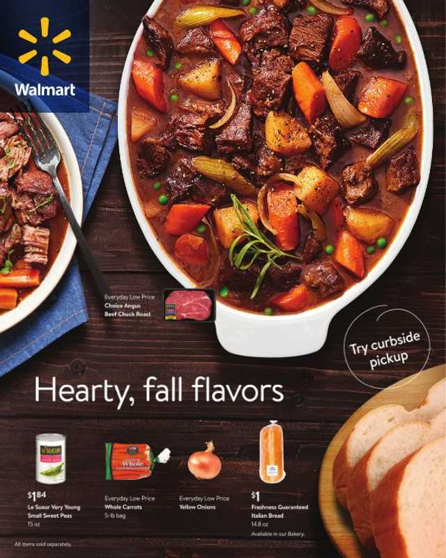 Walmart - deals are valid from 09/29/21 to 10/31/21 - page 1.