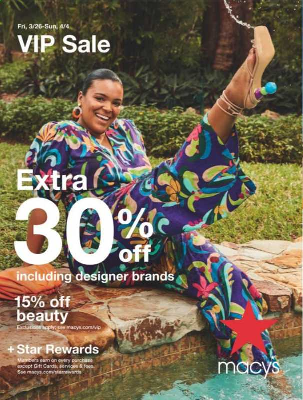 Macy's - deals are valid from 03/26/21 to 04/04/21 - page 1.