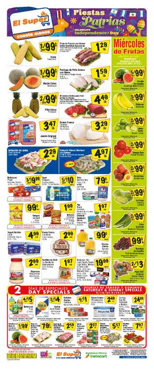 El Super - deals are valid from 09/15/21 to 09/21/21 - page 1.