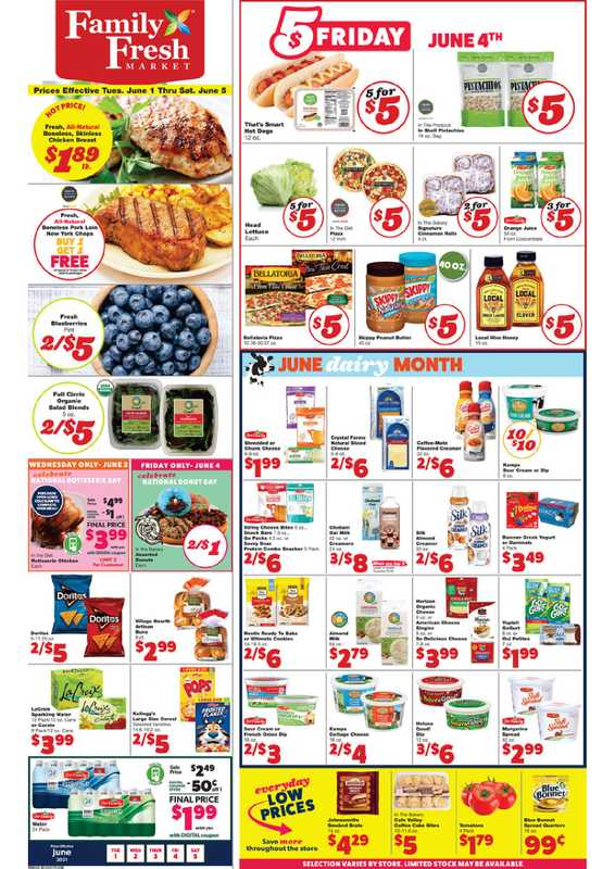 Family Fresh Market - deals are valid from 06/01/21 to 06/05/21 - page 1.