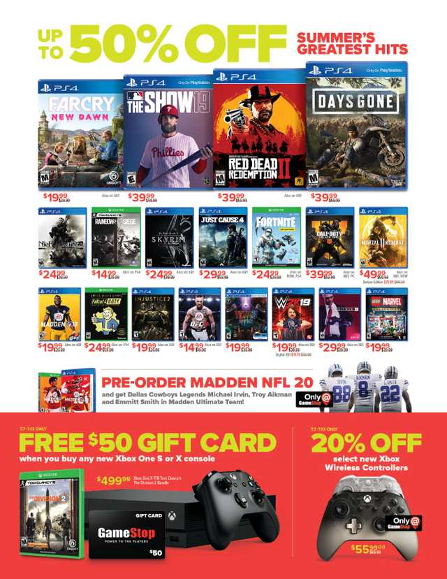GameStop - promo starting from 2019-07-07 - page 2