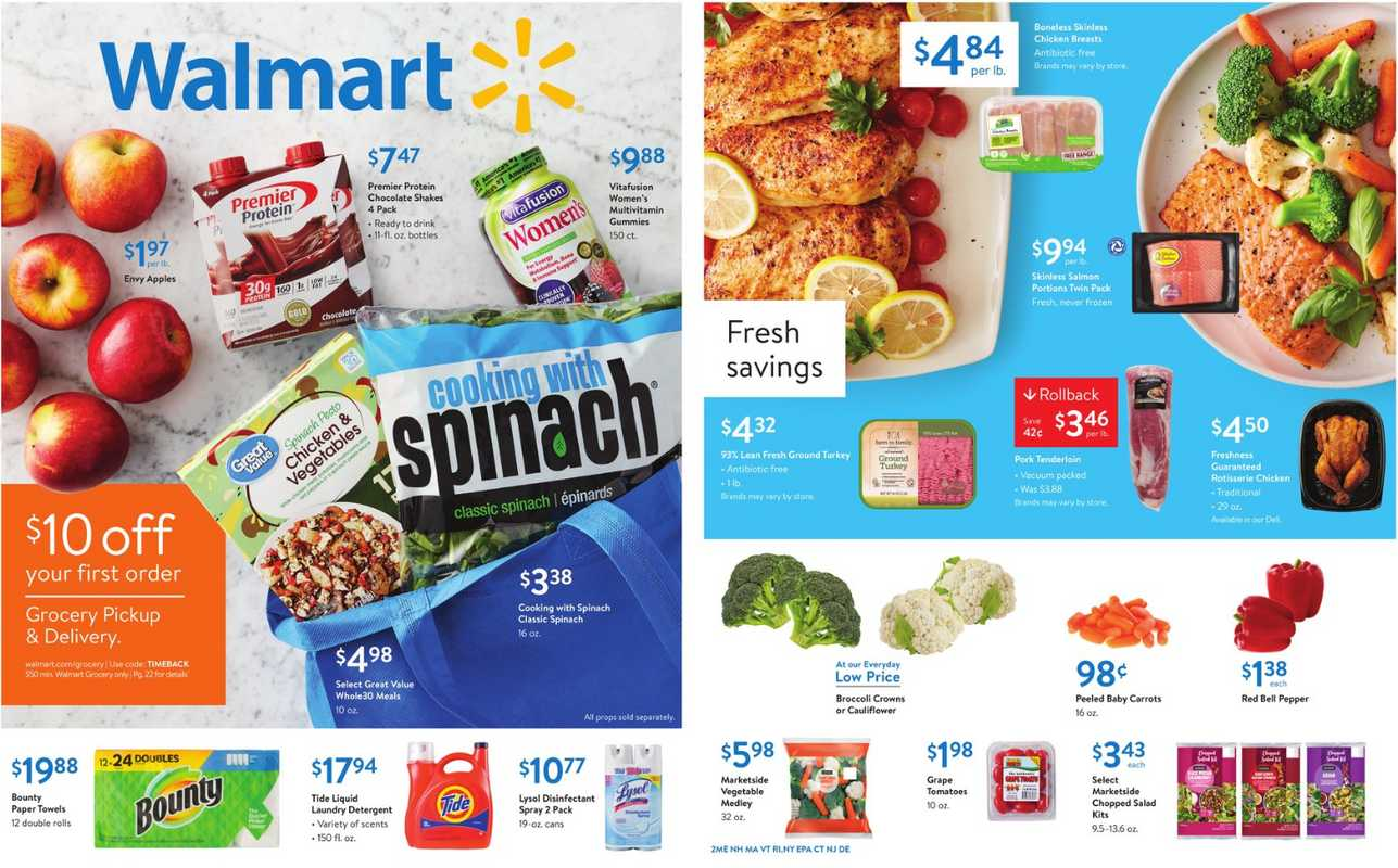 Walmart - deals are valid from 12/26/19 to 01/11/20 - page 1.