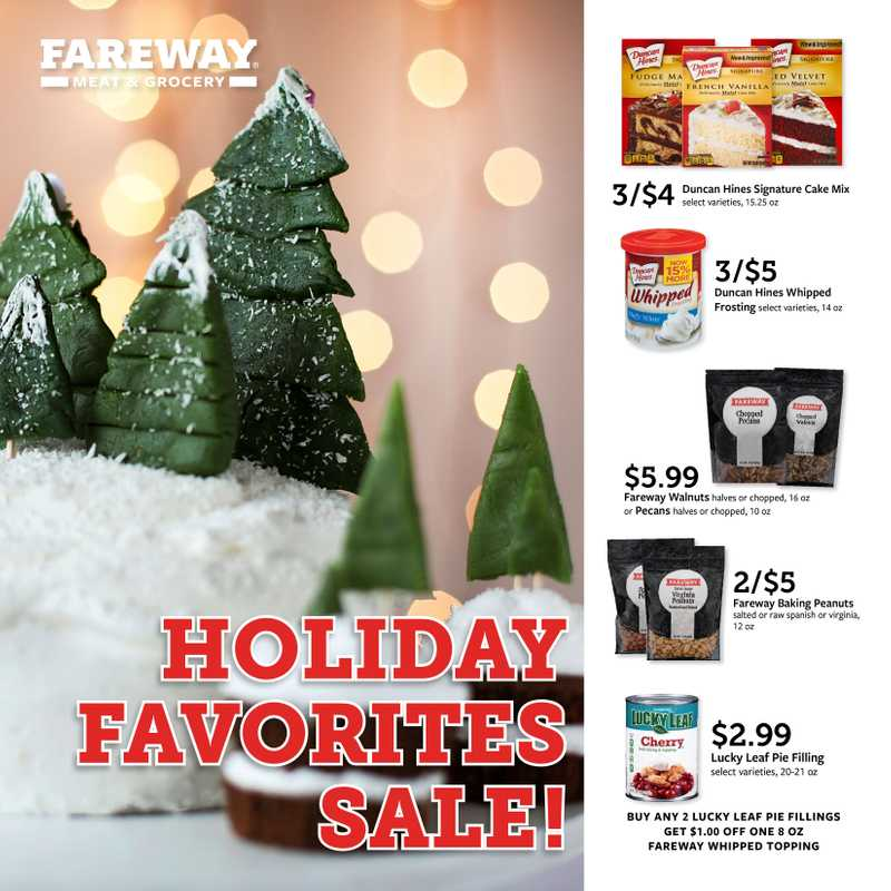 Fareway - deals are valid from 12/04/19 to 12/31/19 - page 1.