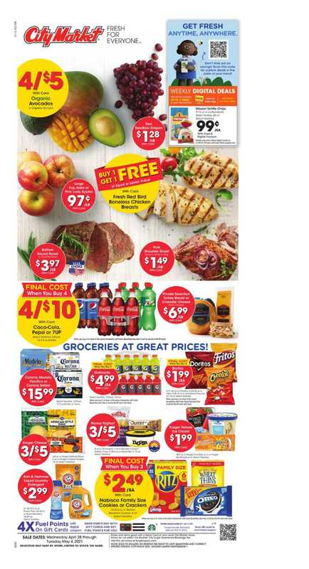 City Market - deals are valid from 04/28/21 to 05/04/21 - page 1.