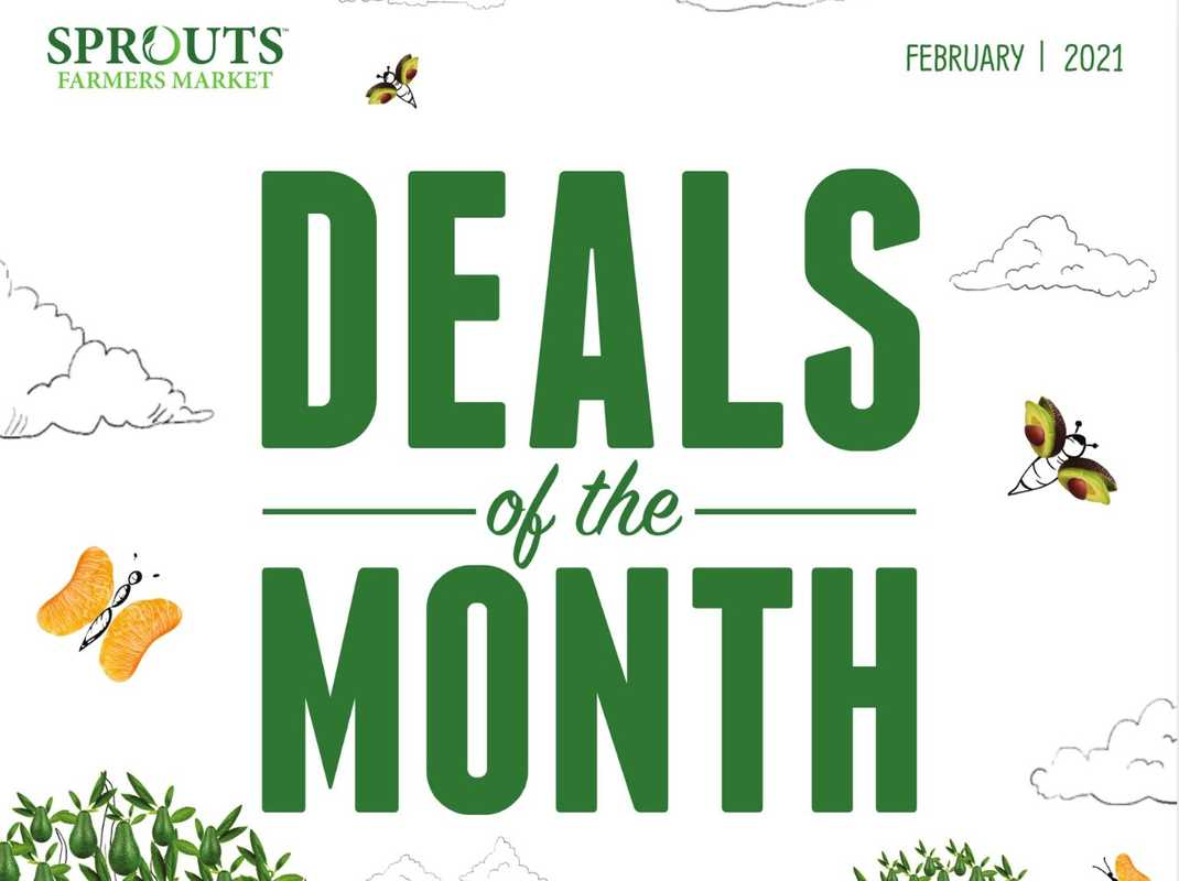 Sprouts - deals are valid from 01/27/21 to 02/24/21 - page 1.