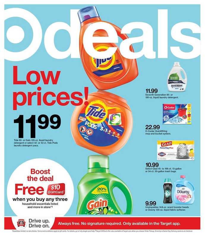 Target - deals are valid from 02/14/21 to 02/20/21 - page 1.