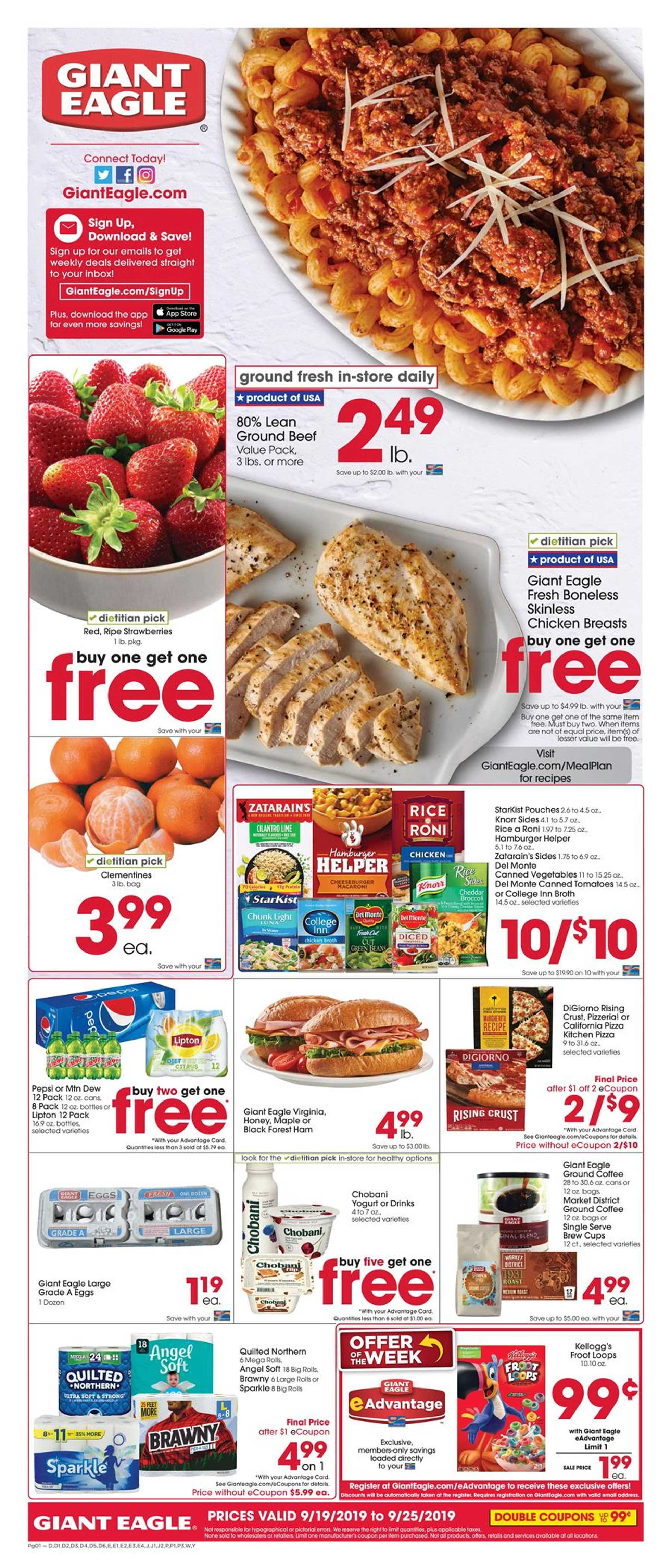Giant Eagle - promo starting from 09/19/19 - page 1