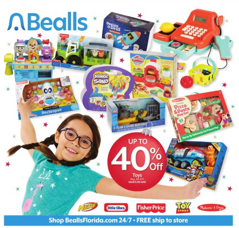 Bealls Florida - deals are valid from 12/13/20 to 12/19/20 - page 1.