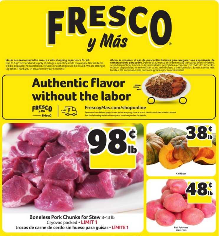 Fresco y Más - deals are valid from 11/27/20 to 12/02/20 - page 1.