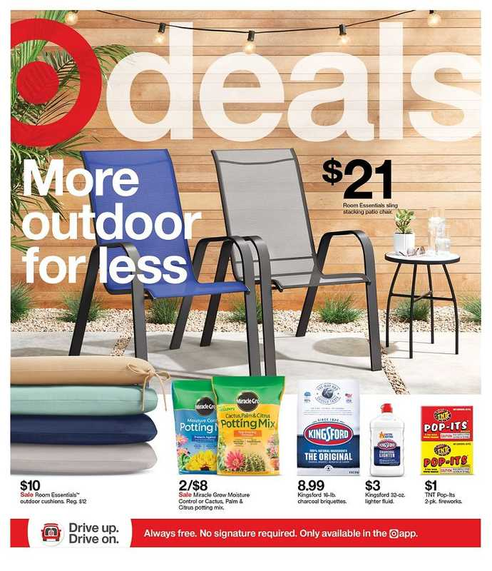 Target - deals are valid from 05/23/21 to 05/29/21 - page 1.