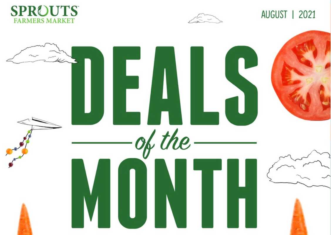 Sprouts - deals are valid from 07/28/21 to 08/24/21 - page 1.