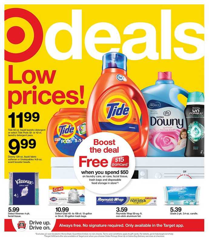 Target - deals are valid from 02/28/21 to 03/06/21 - page 1.