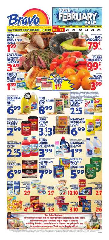 Bravo - deals are valid from 02/19/21 to 02/25/21 - page 1.