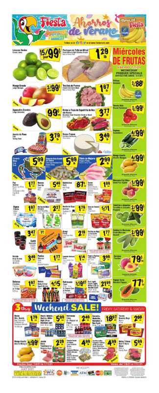 Fiesta Mart - deals are valid from 07/07/21 to 07/13/21 - page 1.