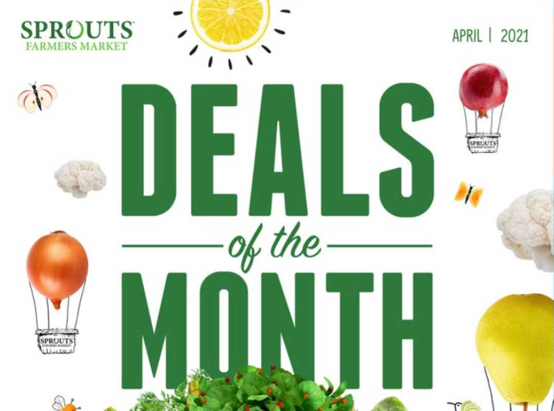 Sprouts - deals are valid from 04/01/21 to 04/30/21 - page 1.