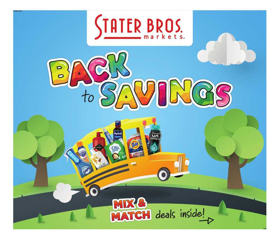 Stater Bros - deals are valid from 07/28/21 to 08/24/21 - page 1.