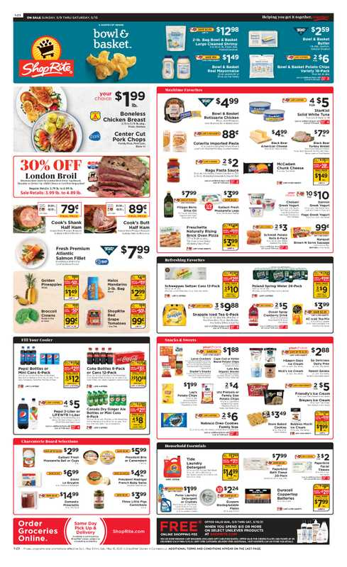 ShopRite - deals are valid from 05/09/21 to 05/15/21 - page 1.