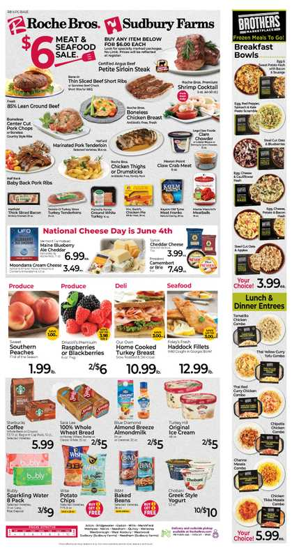 Roche Bros. - deals are valid from 06/04/21 to 06/10/21 - page 1.