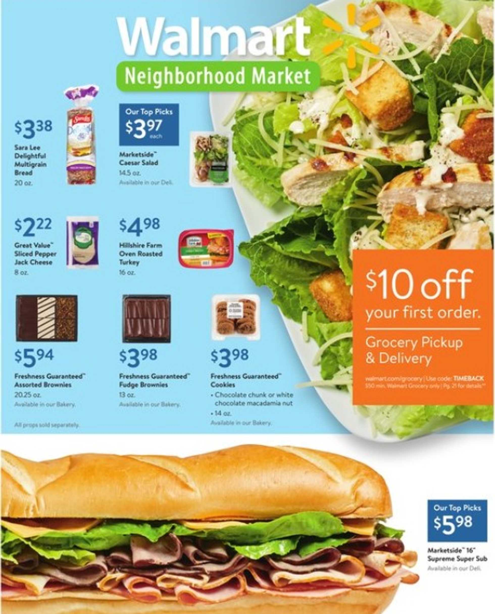 Walmart - promo starting from 11.08.2019 - page 1