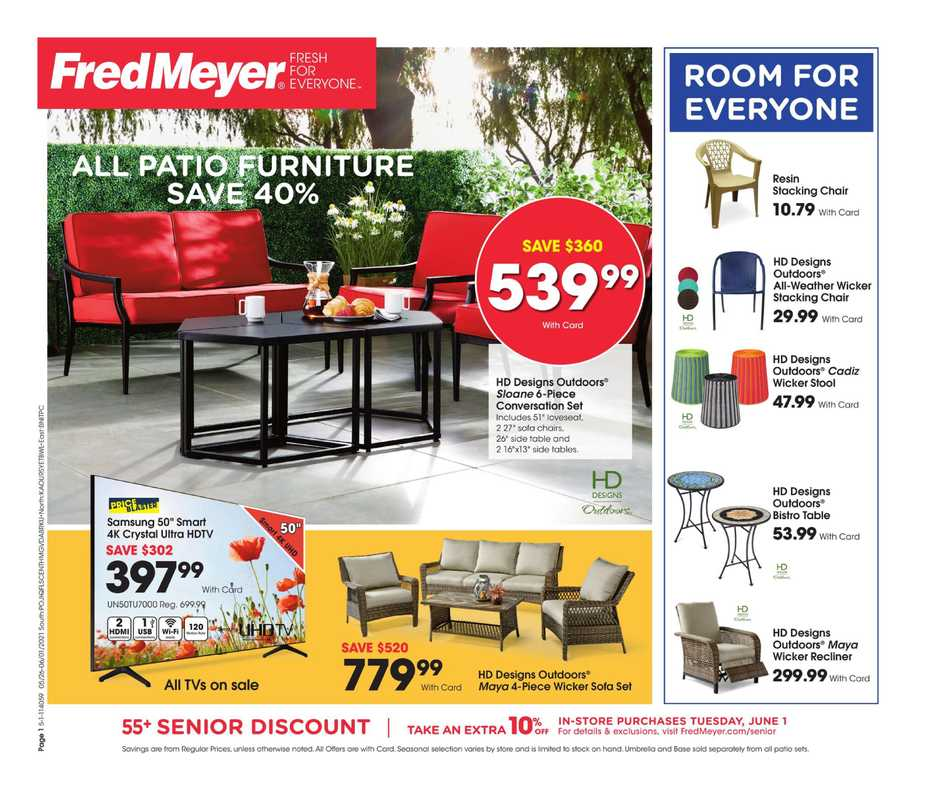 Fred Meyer - deals are valid from 05/26/21 to 06/01/21 - page 1.