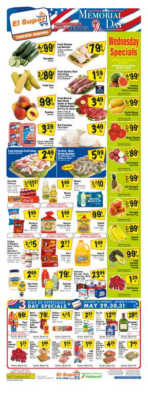 El Super - deals are valid from 05/26/21 to 06/01/21 - page 1.