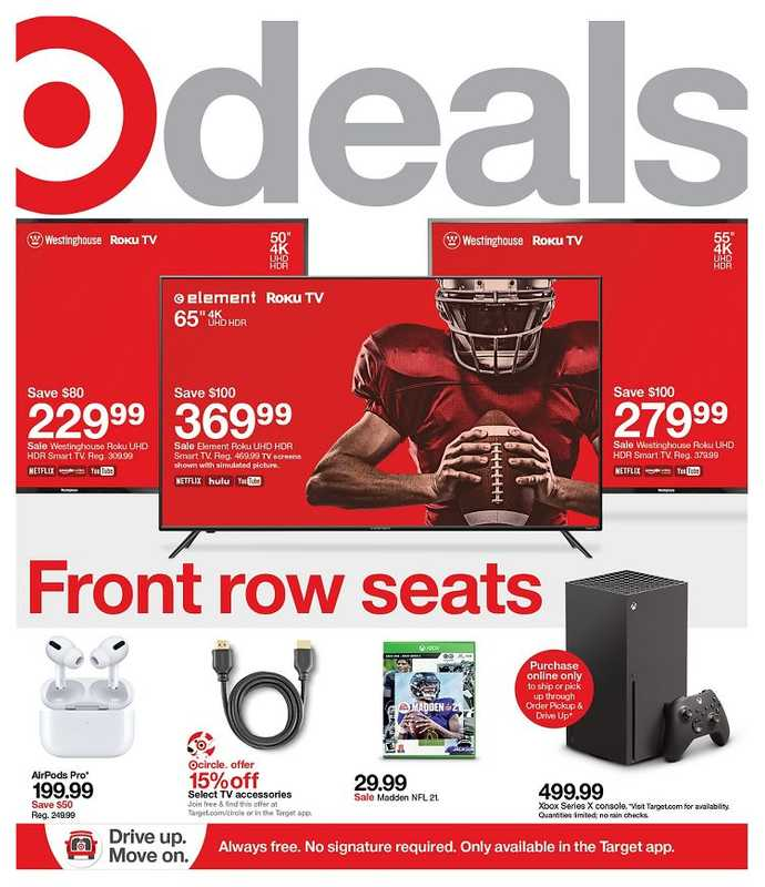 Target - deals are valid from 01/24/21 to 01/30/21 - page 1.