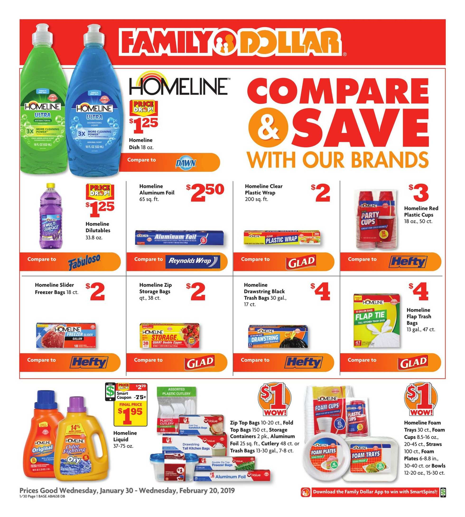 Family Dollar - promo starting from 30.01.2019 - page 1