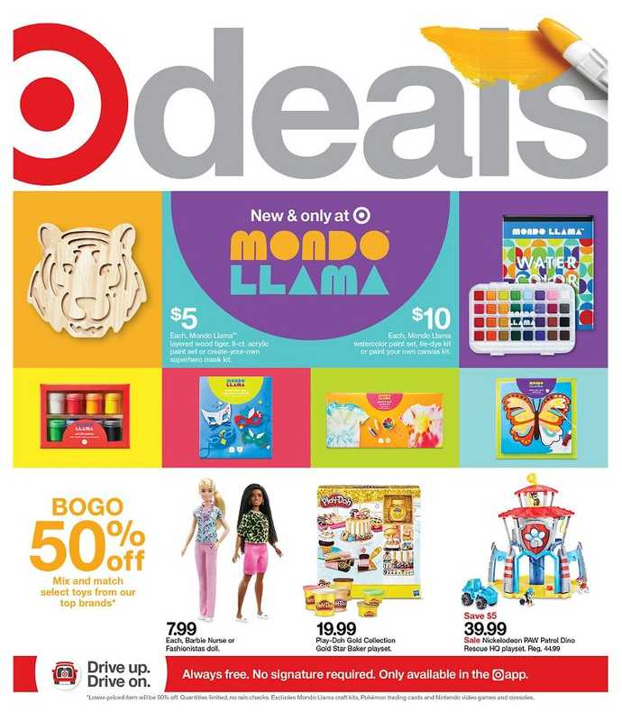Target - deals are valid from 05/16/21 to 05/22/21 - page 1.