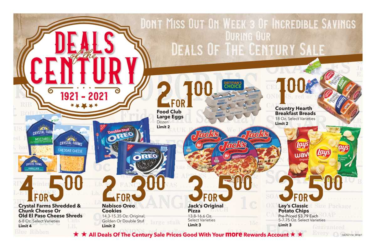 Cash Wise - deals are valid from 04/28/21 to 05/04/21 - page 1.