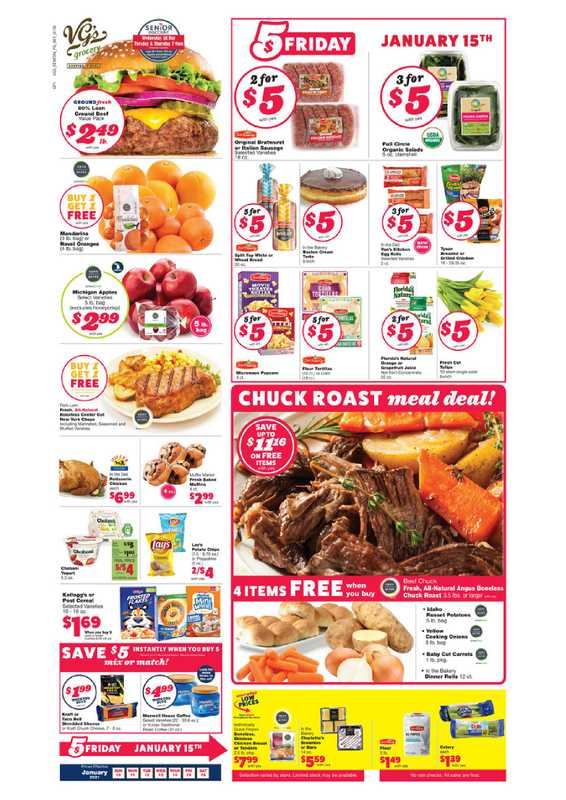 VG's Grocery - deals are valid from 01/10/21 to 01/16/21 - page 1.